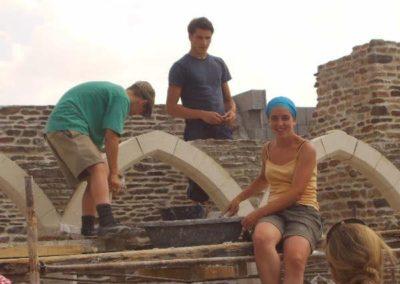 Remplissage des arches