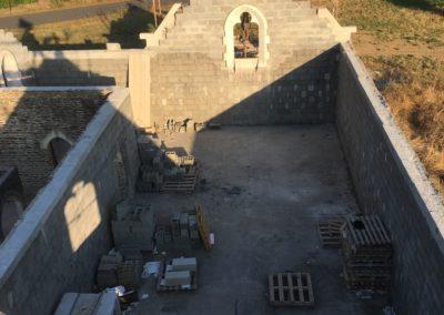 Le Mémorial vu de l'interieur