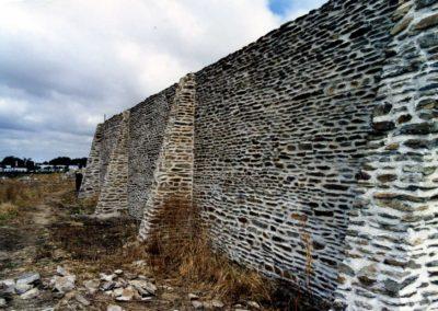 Finition du mur Sud